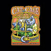 CAT AND CAGE DUBLIN, IRELAND SHIRT