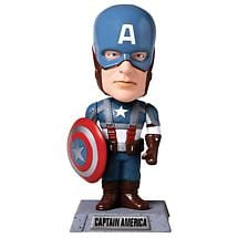 SUPER HERO WACKY WOBBLER - CAPTAIN AMERICA