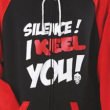 SILENCE! I KEEL YOU! HOODED SWEATSHIRT