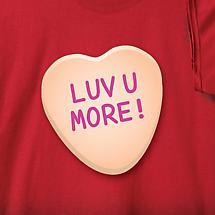 Personalized Sweet Heart Shirt