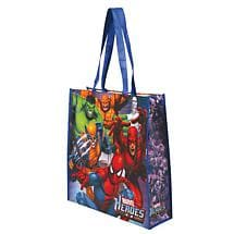 MARVEL HEROES RECYCLED TOTE