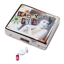 FANCIFUL PILL BOX - HAPPY PILLS