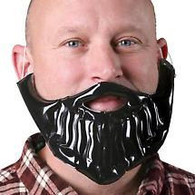 MUSTACHE ACCOUTREMENT - INFLATABLE BEARD