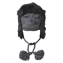 SNUGLY WARM ANIMAL HAT - GORILLA