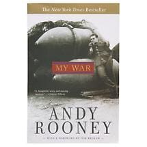 ANDY ROONEY BOOK - MY WAR