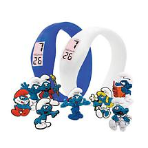 SMURF GEL WATCHES WITH CHARMS