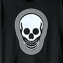 LIGHT UP CLOTHING - SKULL T-SHIRT