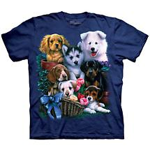 PUPPY COLLAGE T-SHIRT