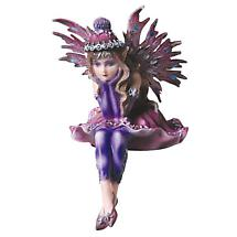 COLORFUL FAIRY SITTER (PINK & PURPLE)