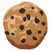 CHOCOLATE CHIP COOKIE RUG