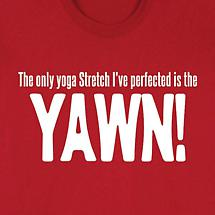ONLY YOGA STRETCH I'VE PERFECTED SHIRT