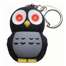 LIGHT AND SOUND KEYCHAIN - OWL
