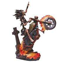 HELLRIDER SCULPTURE