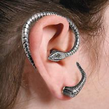 TEMPTATION SNAKE EAR WRAP