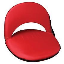 Recreational Reclining Seat - Plain Red