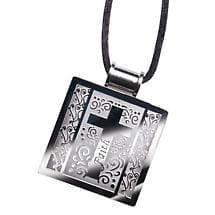QR CODE NECKLACE - FAITH