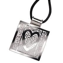 QR CODE NECKLACE - LOVE