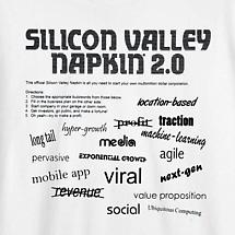 SILICON VALLEY NAPKIN® & MORE - TEE