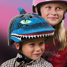 RASKULLZ HELMETS - SHARK ATTAX (AGES 3-5)