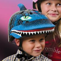RASKULLZ HELMETS - SHARK ATTAX (AGE 8 AND UP)