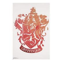 Hogwarts House Crest - Gryffindor (Red-Orange)