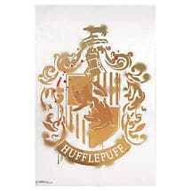 HOGWARTS HOUSE CREST - HUFFELPUFF (GOLDEN YELLOW)