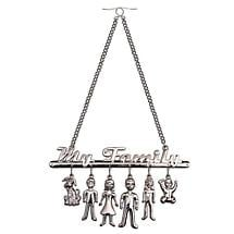 YOUR CHARMING FAMILY REAR VIEW MIRROR DANGLER