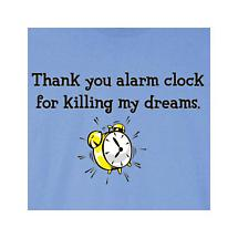 THANK YOU ALARM CLOCK T-SHIRT