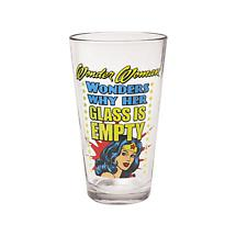 WONDER WOMAN PINT GLASSES (SET OF 2)