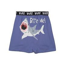 BITE ME (SHARK) CHEEKY BOXERS
