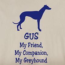 Personalized My Friend, My Companion Shirt - Greyhound Lab