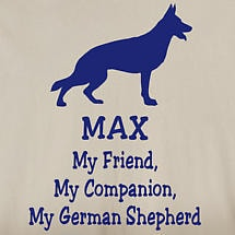 Personalized My Friend, My Companion Shirt - German Shepherd