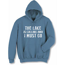 [Name] Is Calling I Must Go Hoodie Sweatshirt Personalized