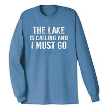 [Name] Is Calling I Must Go Long Sleeve T-Shirt Personalized