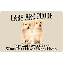 Dog Breed Doormat - Yellow Lab