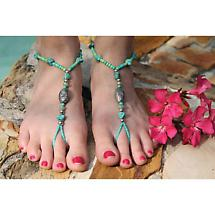 THE BAREFOOT SANDAL - CORAL REEF JEWELRY