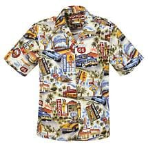 ROUTE 66 HAWAIIAN SHIRT
