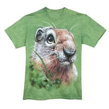 GROUND SQUIRREL FACE SHIRT