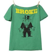 MONOPOLY BROKE SHIRT