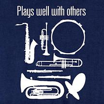 PLAYS WELL WITH OTHERS SHIRT