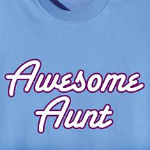 AWESOME AUNT SHIRT
