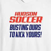 Personalized Busting Ours To Kick Yours T-Shirt
