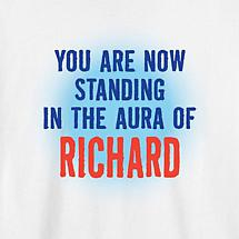 Personalized You Are Now Standing In The Aura T-Shirt