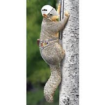 Outdoor Squirrel Tree Climber Sculpture