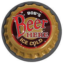 Personalized Beer Cap Mat