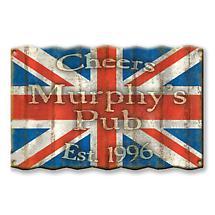 Personalized International Flag Signs - United Kingdom