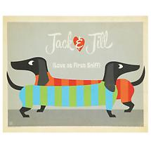 Love At First Sniff Personalized Print