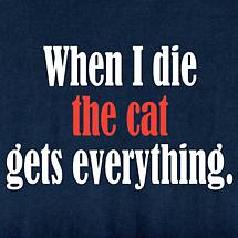 When I Die Personalized T-Shirt