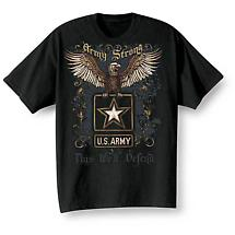 Golden Eagle Military T-Shirts - Army