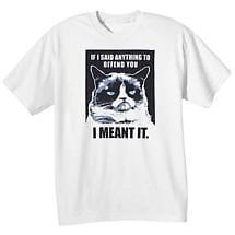 Grumpy Cat Tees - I Mean It